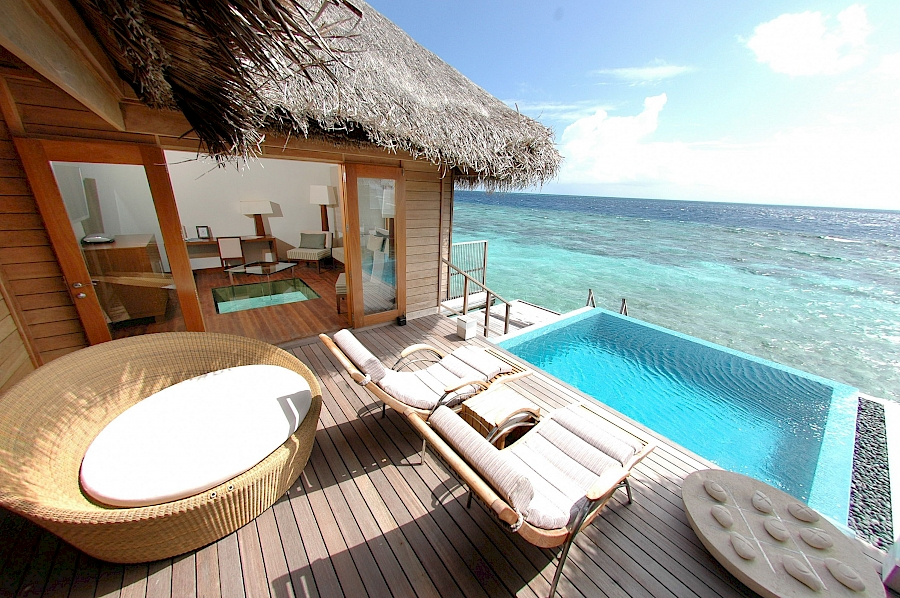 LUXUSREISEN - TRAVEL IN LUXURY  MALEDIVEN_LUXUSREISEN MALEDIVEN**HUVAFEN FUSHI, Watervilla